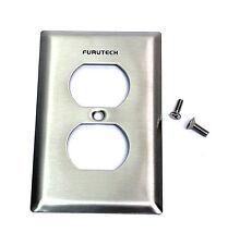 1pc AC duplex receptacle Cover Plate Outlet Cover 102-D Furutech Japan