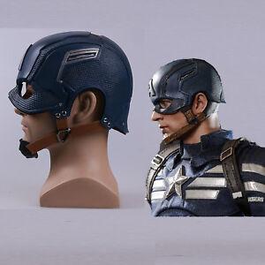 Captain America Helmet  Infinity War Steve Rogers Cosplay Mask Props New