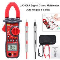 UA2008A Auto Digital Clamp Meter Multimeter Handheld RMS AC/DC Resistance YS