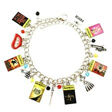 Broadway Musicals Theme Series Assorted Metal Charm Bracelet Gift Box