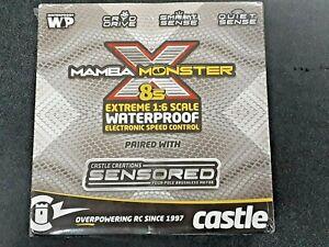 Castle Creations Mamba Monster X 8S 1/6 ESC/Motor Combo w/1717 Sensored Motor