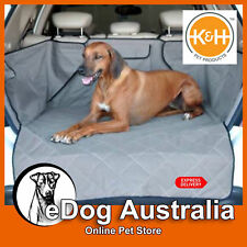 K&H Pet Products Quilted Cargo Cover - Protects Cargo Area of Your Vehicle
