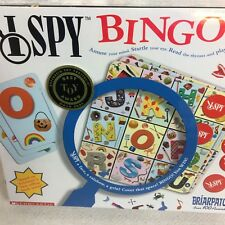 I Spy Bingo Family Game Briarpatch Scholastic Oppenheim Phonics Beginning Sounds