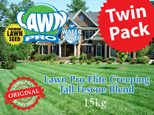 7.5kg Twin Pack Lawn Pro Elite RTF Creeping Tall Fescue Premium Lawn Seed