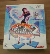 Dance Dance Revolution: Hottest Party 2 (Nintendo Wii) In Box with Game