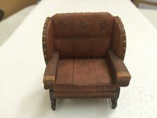Take A Seat By Raine Billiard Room Chair c.1895 Dollhouse Figurine #24029