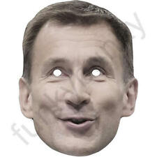 Jeremy Hunt Politician Political Card Face Mask. All Our Masks Are Pre-Cut!