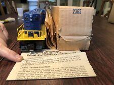 LIONEL POSTWAR #2365 CHESAPEAKE & OHIO GP7 DIESEL ENGINE + BOX & INSTRUCTIONS