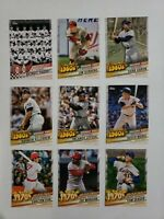 2020 Topps Series 2 DECADES BEST INSERT Pick your Player/ Complete Your Set!