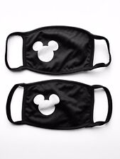 Mickey Mouse Face Mask | Multi Layer Fabric | Handmade In USA | 2 pack