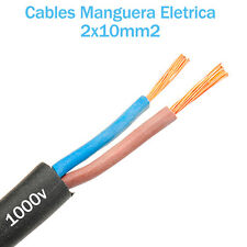 Cable Cobre 2 x 10 mm2 RZ1-K Manguera para instalacion solar acesorios solar