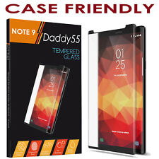 5d Full Cover Tempered Glass Screen Protector for Samsung S8 Case Friendly