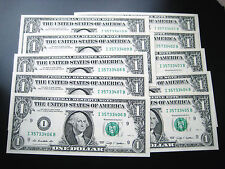 (10) $1 2009 (((I MINNEAPOLIS))) FEDERAL RESERVE UNC BU NOTE((SERIES# 431- 440))