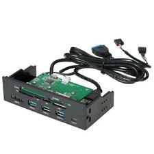 "5.25"" inch Internal Card Reader Media Dashboard PC Front Panel Type-C USB3.1 3.0"