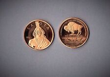 2010 Lakota Crazy Horse One Ounce Copper Uncirculated Coin