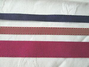 WEBBING /  TAPE  poly-cotton   10mm / 20mm wide   5m or 10 metres