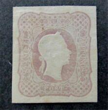 nystamps Austria Stamp # P7b Mint OG H $2500 Signed