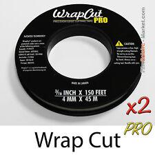 """""""WrapCut Pro"""" 90m,-faden coupe vinylfolie,klebstoff,abdeckung,wrap,cut band"""
