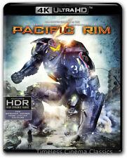 Pacific Rim 4K Ultra HD Blu-ray Digital HD New with Slipcover