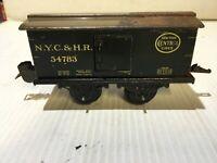 Vintage O Gauge 4 Wheel Fandor N.Y.C.&H.R. 54783 Boxcar