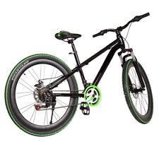Mountainbike MTB 26 Zoll schwarz und grüne FAHRRAD SHIMANO RAD ATTACK 21 Gang DE