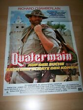 QUATERMAIN – Kinoplakat A1 ´86 (B) - Richard Chamberlain SHARON STONE