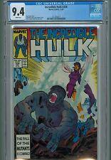 Incredible Hulk 338 CGC 9.4 Todd McFarlane Thor Ragnarok Move Marvel Comics