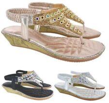 Sandali e scarpe infradito senza marca di sera per il mare da donna