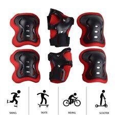 Kids Rollerblade Skateboard Skating Knee Elbow Wrist Protective Gear Pad Kit USA