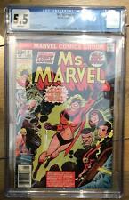 MS MARVEL #1 (1977) 1ST APPEARANCE CAROL DANVERS AS MS MARVEL CGC GRADE 5.5 M...