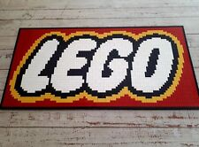 Lego MOC logo ,Custom made Lego logo