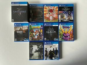 PS4 Games Lot