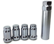 20 Chevy Chrome Spline Tuner Lug Nuts 12x1.5 Sonic Volt Blazer S10 Colorado