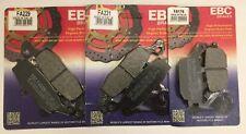 Freno Orgánico EBC FA229 y FA231 Pad Set para Suzuki DL 650 V-Strom 04-18
