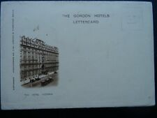 More details for london the hotel victoria northumberland avenue c1908 lettercard