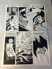 THREE MUSKETEERS original art 1976 D'ARTAGNAN, RAVEN, DC SPECIAL #25, DREAM PG