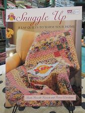 SIGNED COPY... Snuggle Up: 8 Lap Quilts to Warm Your Home by Kovich & Warehime
