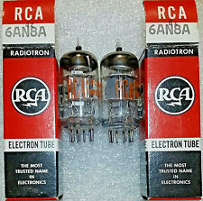 Pair RCA NOS NIB Vacuum Tubes, TV-7D Tested 106%+ - will combine ship