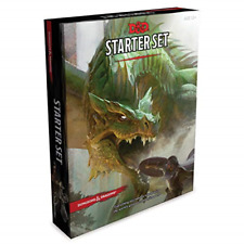 Wizards of the Coast WTCA92160000 Dungeons & Dragons Starter Set D&D Boxed Game
