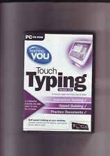 TEACHING YOU : TOUCH TYPING - PC SOFTWARE GAME - FAST POST - COMPLETE - VGC