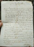 1685 206) LETTERA AUTOGRAFA DEL TESORIERE GENERALE PONTIFICIO FERDINANDO RAGGI