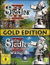 DIE SIEDLER 2 Vollversion + WIKINGER =GOLD *DEUTSCH Sehr Guter Zustand