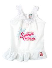 100% Baumwolle Ärmellose Mädchen-T-Shirts & -Tops mit Rundhals und Bestickt