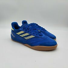 Adidas Copa Nationale Skateboard Shoes, Blue Yellow White, EG2272, Men's 9.5