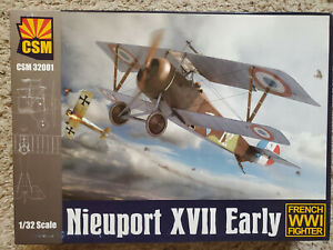 "Copper State Models 1/32 NIEUPORT XVII French WWI Fighter ""Early"""