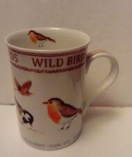Wild Birds China Mug - British Garden Birds