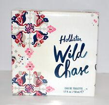 Hollister Wild Chase Perfume EDT 1.7 fl oz New