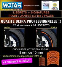 LISERET JANTE AUTOCOLLANT STICKER XR1200  XR 1200 Livré en 24h 23 couleurs