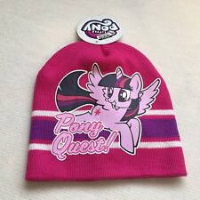 f0dc9433f0b Little Girls  My Little Pony Beanie Hat Pony Quest Pink - NEW