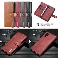 For Samsung Galaxy Note 10/10 Pro Card Wallet Case Leather Pocket Phone Case